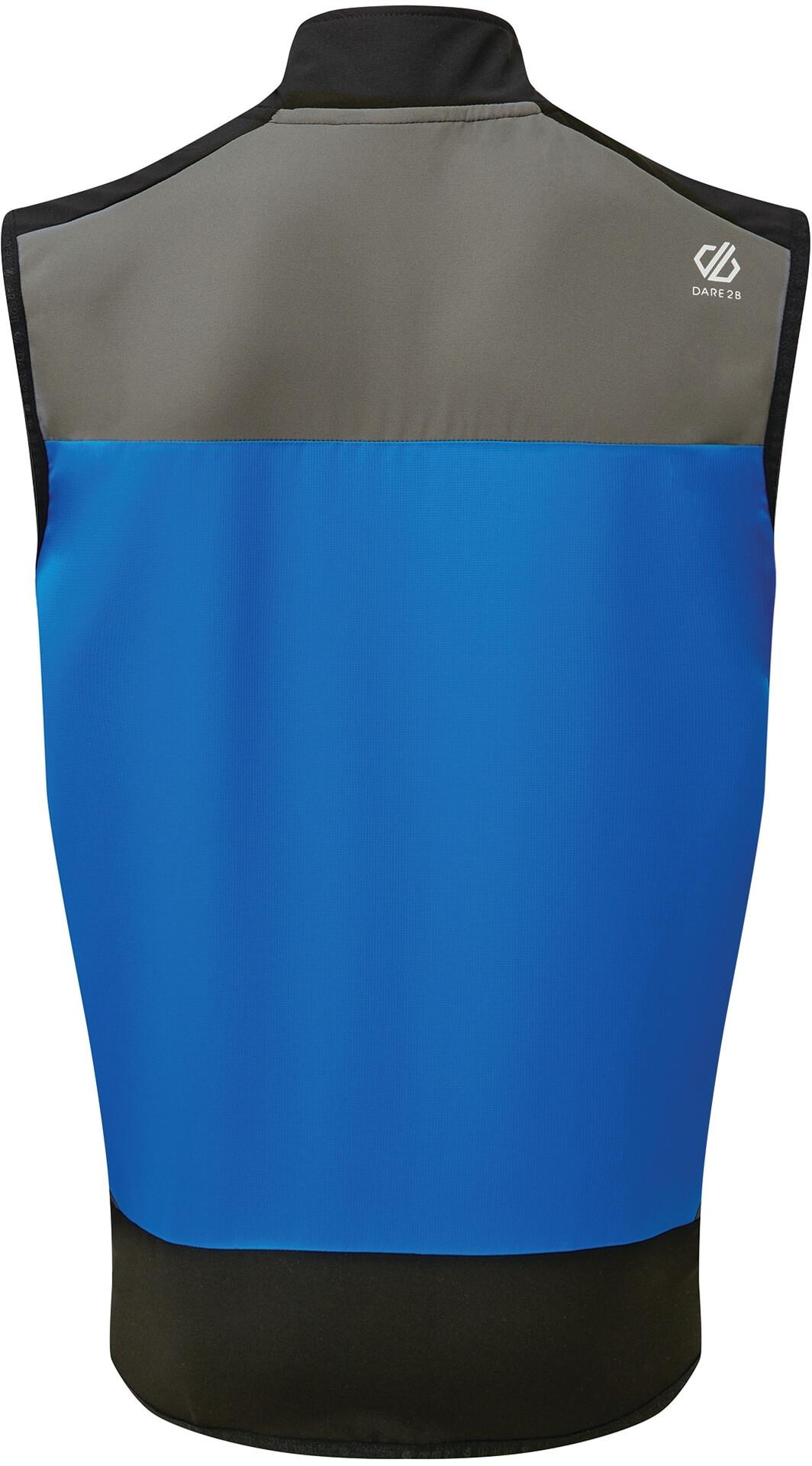 Dare 2b Aptile Gilet Uomo, athletic blue/aluminium grey/black su Addnature T6pHk